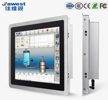 Excellent performance true flat capacitive /resistive touch screen android panel pc 21.5 inch industrial computer