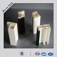Plastic Window/2015 PVC Window and Door Profile with Low price and Good Quality