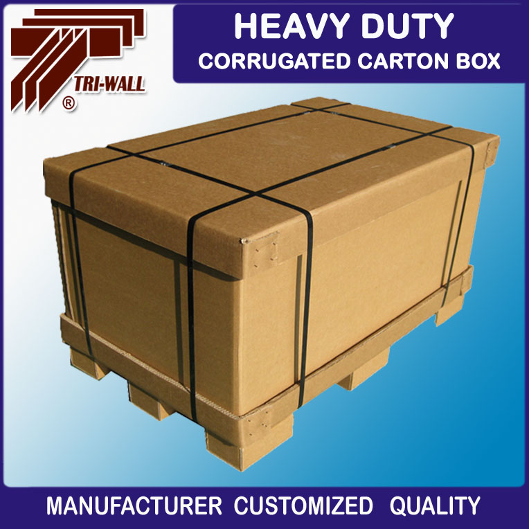 Hot sale Heavy duty corrugated cardboard Shipping pallet Box