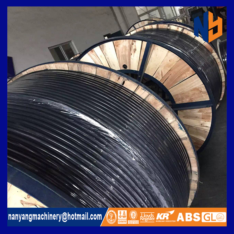 ASTM marine stainless steel coiled tubing 316 for single core