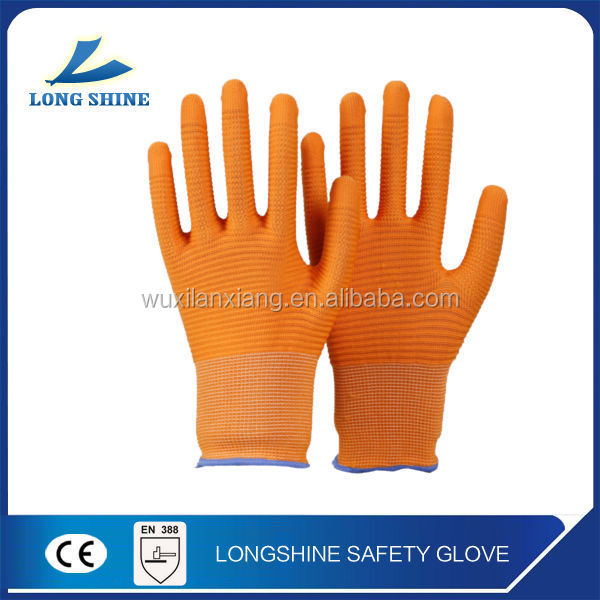 high profermence crinkle yellow cut resistant level 5 safety work gloves for <strong>industry</strong> with ce certification