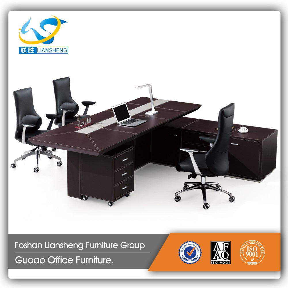 New Style Laminate Melamine Director Table LD-01 Office Furniture Manufacturer