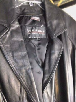 Wilson Leather Coat - Removable Thinsulate Lining /Belt