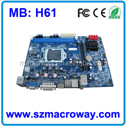 Desktop mainboard support i3/i5/i7 processors