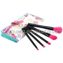 Professional 5 piece high quality makeup brush set cosmetic brush set