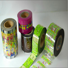 Accept customer order bubble tea sealing film /plastic cup sealing roll film /customized bubble tea cup sealing film for jelly