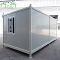 Factory hot sales fireproof sandwich panel expandable mobile family shipping container home