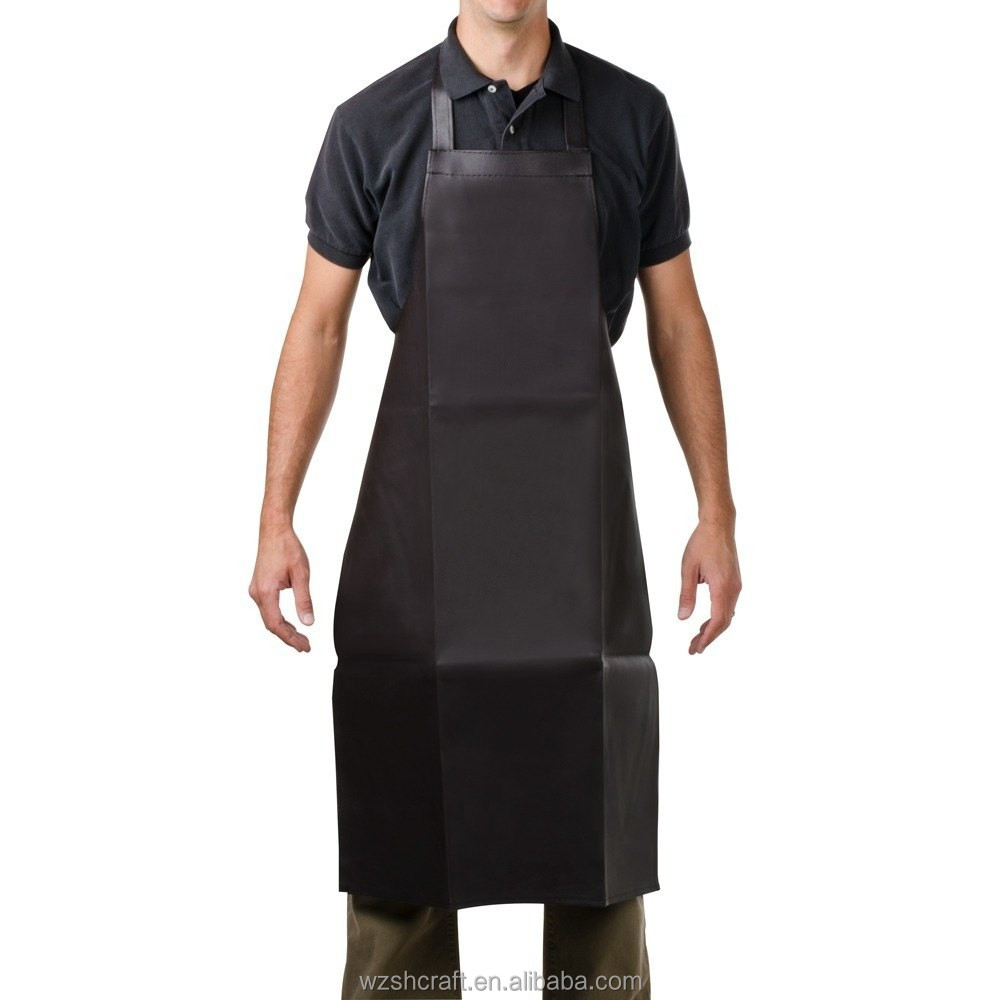Cheap Factory Customized Eco-Friendly suede apron/leather welding apron