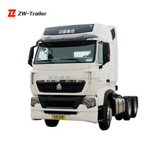 2015 model truck factory china Sinotruk howo 6x4 tractors for sale in tanzania