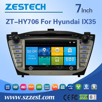 double din car radio GPS navigation system for Hyundai ix35 Tucson 2009-2014 touch screen car radio dvd gps audio system CD USB