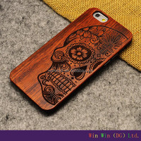 Hot Sell for iphone 6 wood case, handmade