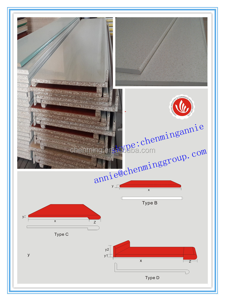 Hpl and melamine finished counter top view counter top for Kitchen set hpl