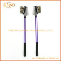 Beauty needs eyebrow and eyelash comb brush