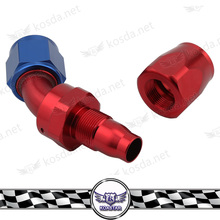 Aluminium Fitting An10 45 Degree Swivel An Fitting Adapter Hose End Oil Fuel Line Fittings