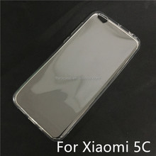 Soft TPU Silicon Transparent Clear Case For Xiaomi 5C