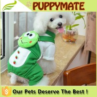 Wholesale dog funny clothes/pet clothes for winter/ dog clothes with four legs