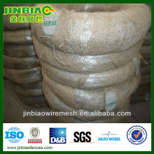 BWG22 8kg electro galvanized iron coiled wire