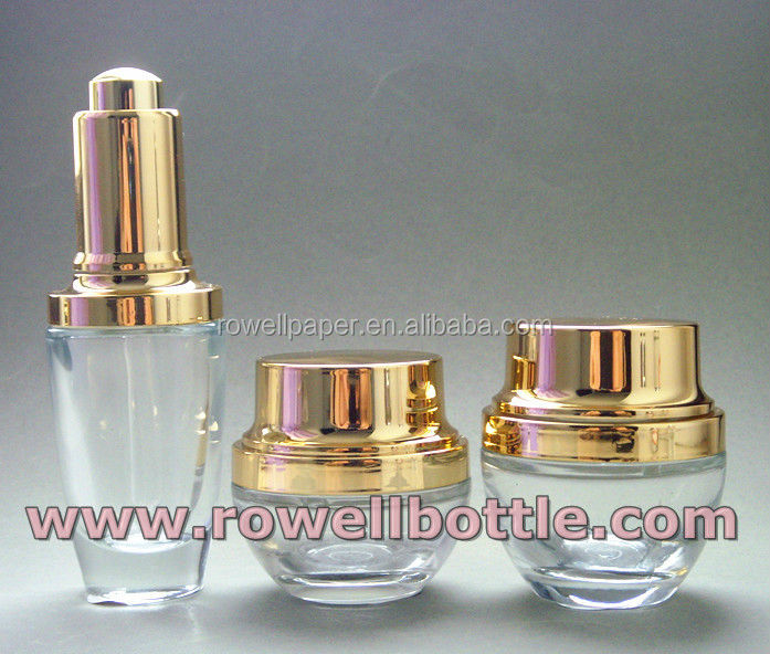 cosmetic jars and lotion bottles gifted packaging manufacturer made in China