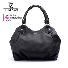 CC1025 Cancoa 100% real leather bag women leather black tote bag top sale 2017