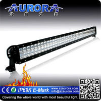 "High quality AURORA 40"" double row wholesale offroad led light for car"