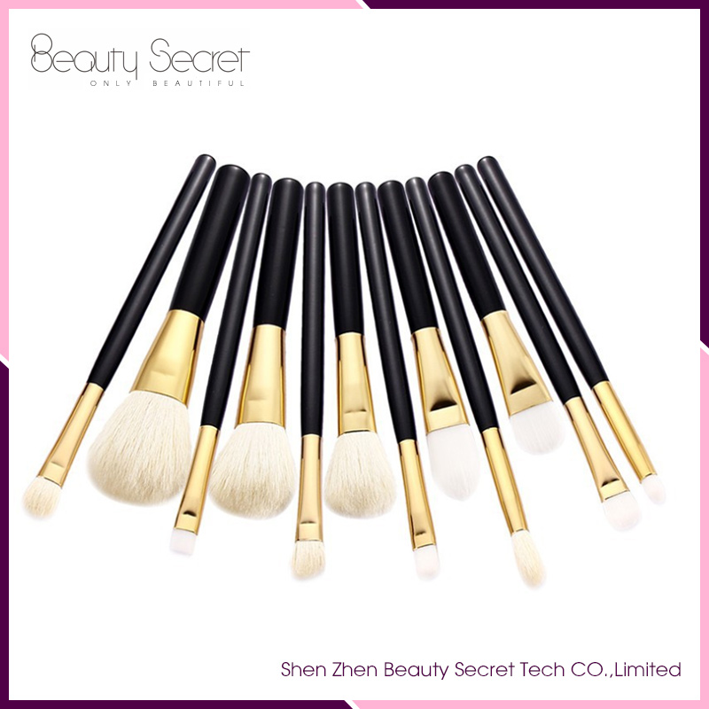Best Quality 12 pcs one set makeup brushes professional make up brushes With Low MOQ