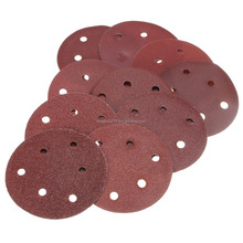 round sand paper/colored sand paper/Adhesive Sanding Discs
