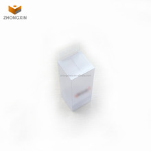 Fodable clear pvc sunglass packaging box