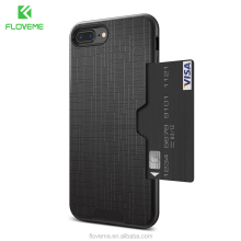 FLOVEME Card Slot Luxury Phone Case For iPhone 7 Wallet Mobile Phone Accessories For iPhone 8 6 6s 7 Plus Cases