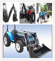 mini tractor with front end loader and backhoe,small garden tractor loader backhoe