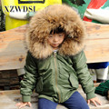 CX-G-C-08E Wholesale Quality Primacy Full Pelt Faux Lined Kids Fur Bomber Jackets