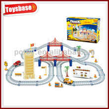 Educational city game kids ,city track set