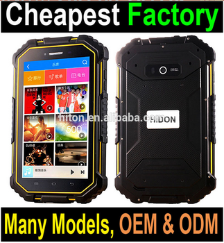 Highton Factory Android 6.0 Shockproof Tablet PC With B4 B7 B17 Band Rugged Tablets