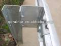 W beam highway guardrail install systems