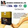 Heat resistance high gloss 2k clear coat for car refinish