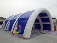 Guangzhou Ruilin customized inflatable outdoor tent,inflatable tunnel tent