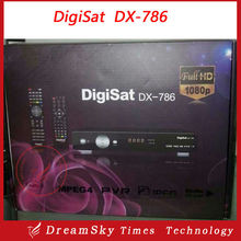 DigiSat DX-786 Digital FTA Satellite TV Receiver 1080p Full HD DVB-S2 FTA Decoder with biss can open tv3 for Africa