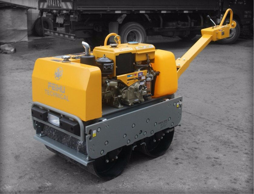 Hydraulic Double Drum Diesel Road Roller FHR700B