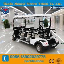 classic mini battery power golf car for tourist