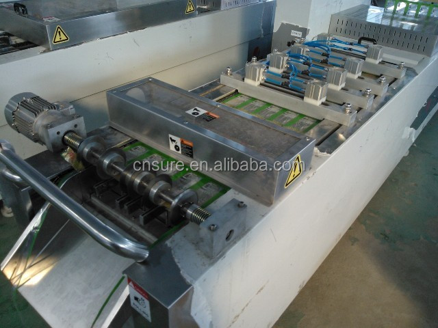 Full-Automatic Modified Atmosphere Frozen Food/ Fast Food/Dry Food Packaging Machine