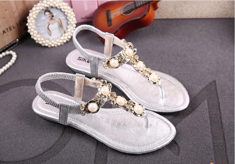 Uniseason Beautiful Women Rooney Footwear Shoes Sandals Thailand