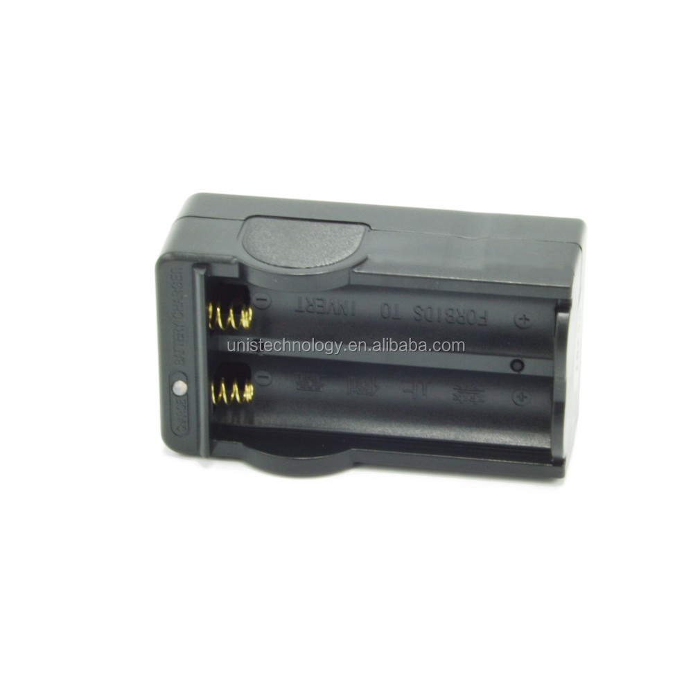 Best Price ! 4.2V 600mAh 18650 li-ion rechargeable battery charger Video/Digital camera travel charger
