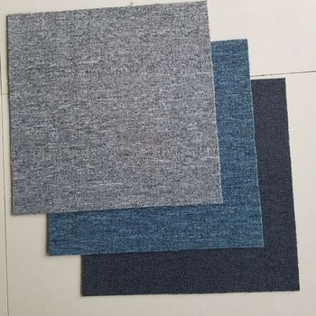 High quality soundproof commercial carpet tiles 50*50cm from China manufacturer