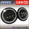 2016 rechargeable 30W 12v 4.5inch led fog light with halo ring for H-arley
