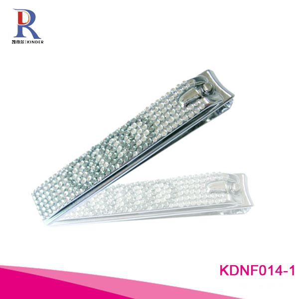 Colorful Diamond Crystal Christmas Promotional Nail Clipper