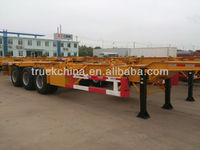 CIMC 40ft 3 Axles Semi Trailer Container Trailer Truck Trailers Container Mover
