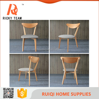 High quality durable and nice look wedding chair rental/grey seat oak wood wedding stage chair