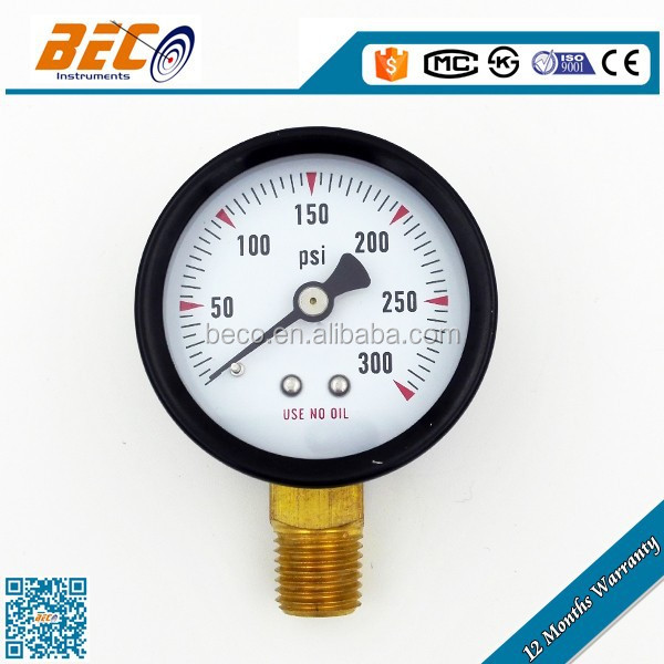 50mm WIKA Bourdon Tube Pressure Gauge Type 111.16PM