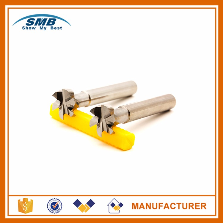 New design carbide end milling cutter with high quality