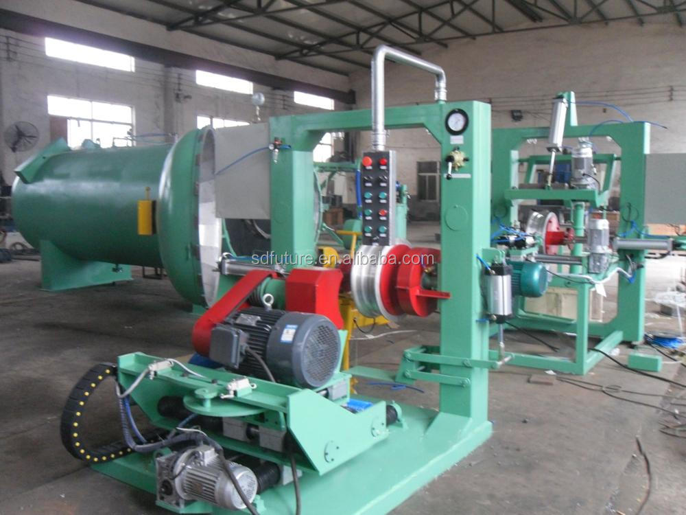 used tire renewing retreading machine cold production