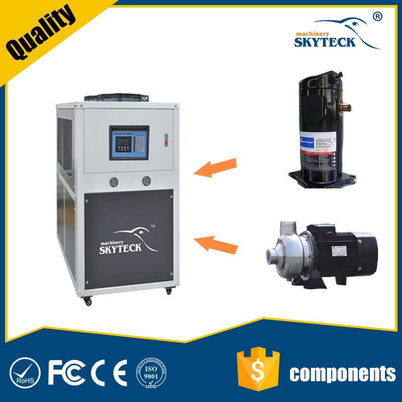 Air cooled industrial water chiller price / cooling system for machines